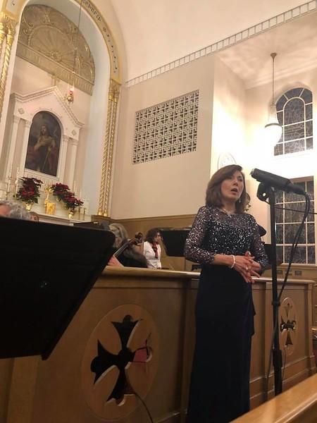 Noune Karapetian of The Bostonians Vocal Quartet.