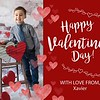 Valentine Card Templates - CNC1701 - Front