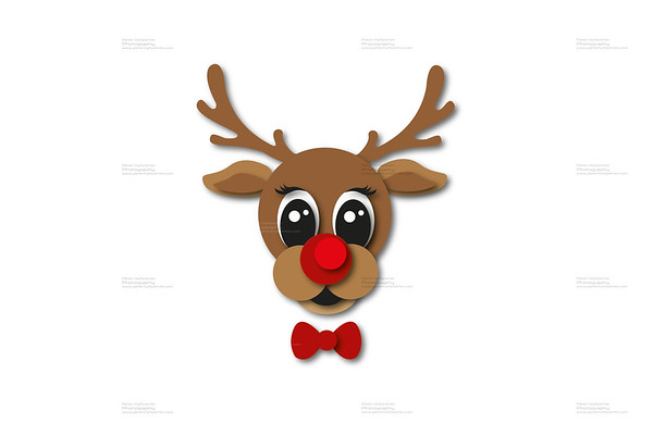 Christmas Background Concepts - Rudolph