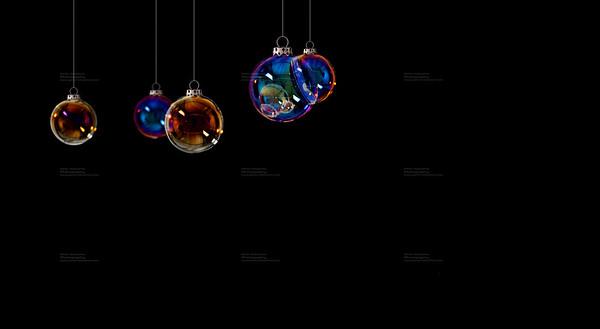 Christmas Balls - Christmas cards Sujet