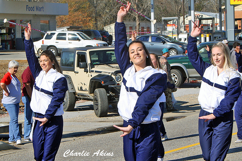 Baton Twirling at the parade