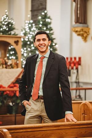 7799 Christmas LatinMass St  Patricks