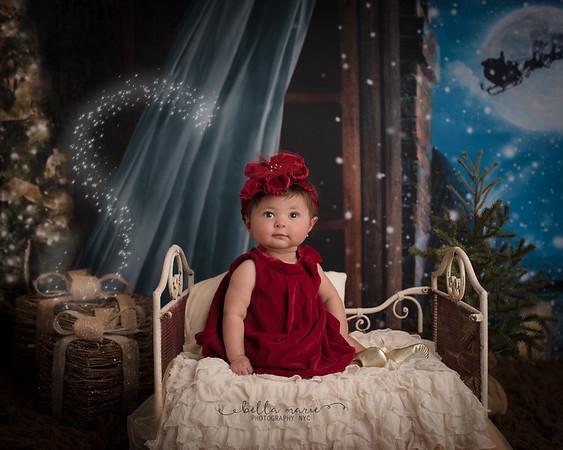 Alyssa's  First Christmas, 2017