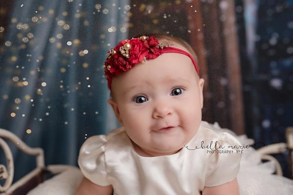 Baby Girl's First Christmas, 2017