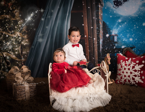 Baby's First Christmas with Big Brother