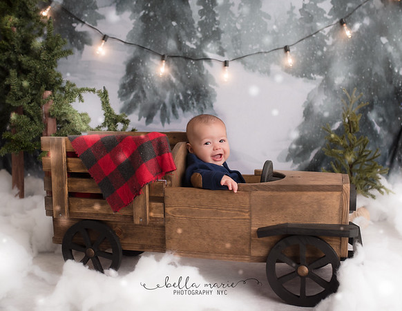 The Boys ~ Baby's First Christmas