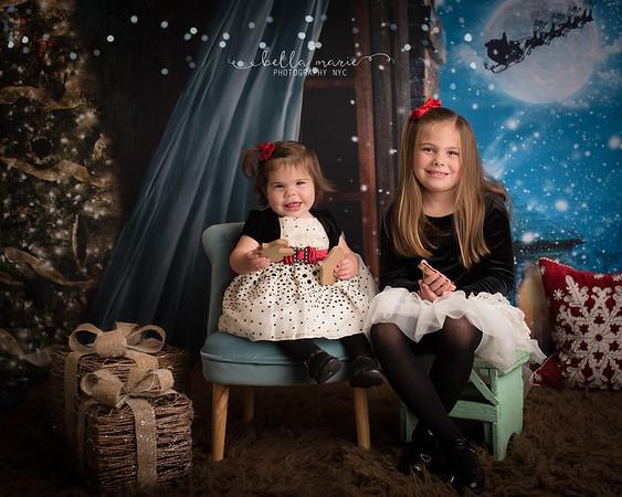 The girls! Christmas 2017