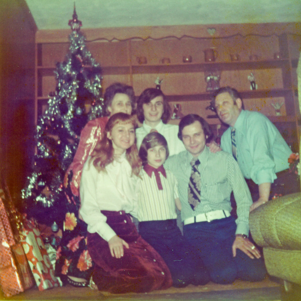 1972 December Mom and Dad's Engagement