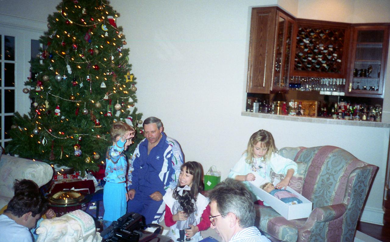 Christmas 1993 (Roll 53) Tim's 20th BDay