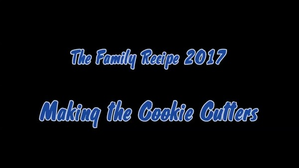 The Family Recipe - Making the cookie cutters