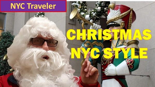 2018 Christmas Greeting -Christmas NYC Style