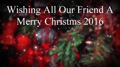 Christmas Greeting 2016 - Candy Christmas