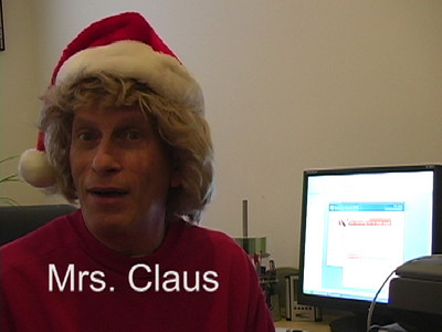 2008 Christmas Greetings - Mrs. Claus