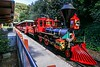 0Disney Calif  2017, 501A, Steam Engine, Disney Railroad-