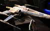 0Disney Calif  2017, 596A, studio model of X-wing fighter-