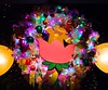 0Disney Calif  2017, 658A, wreaths on light poles, all different-