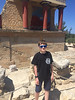 Lorenzo at Knosos in Crete