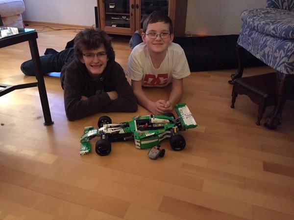 Lorenzo & Remy LEGO creation 1