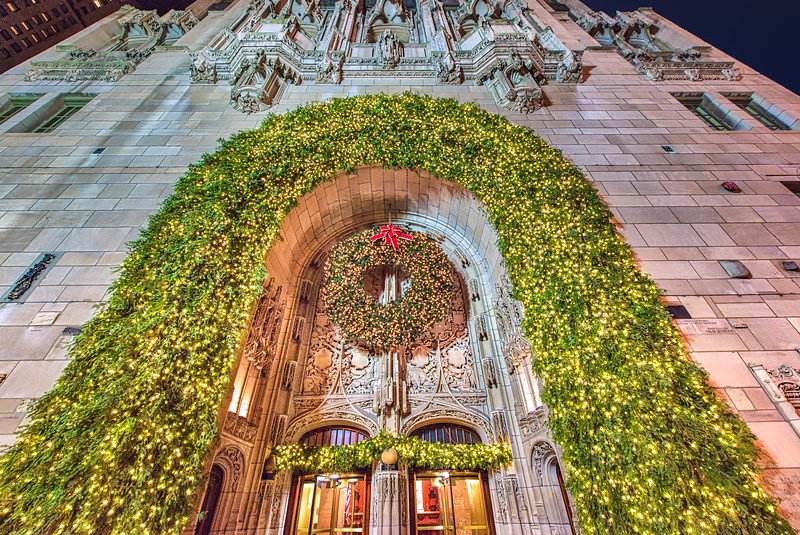 Trib Tower - The Christmas Arch