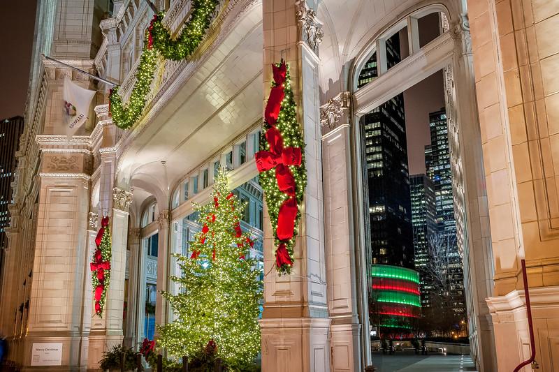 Wrigley Building at Christmas - Take 3