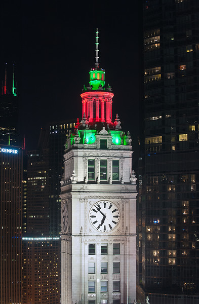 Wrigley Building From Trib Tower - Take 4