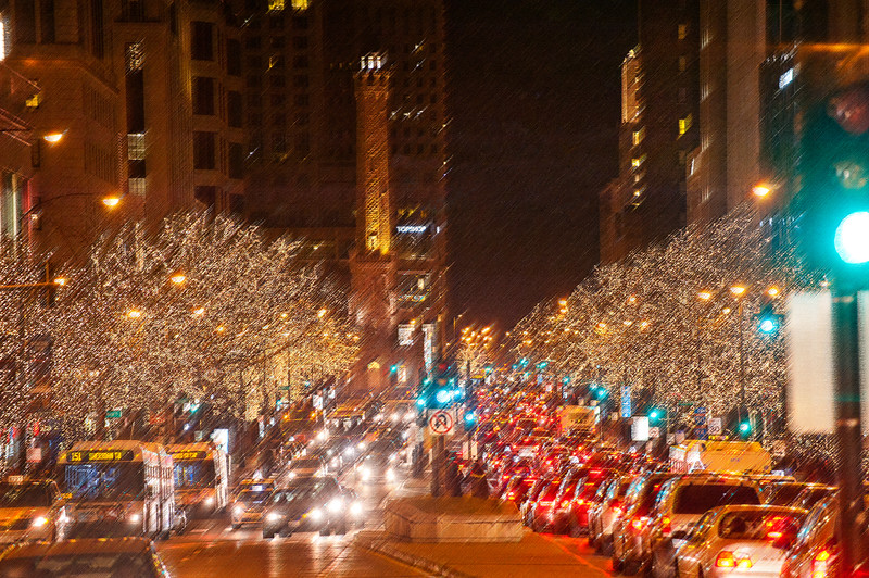 Magnificent Mile in Holiday Finest