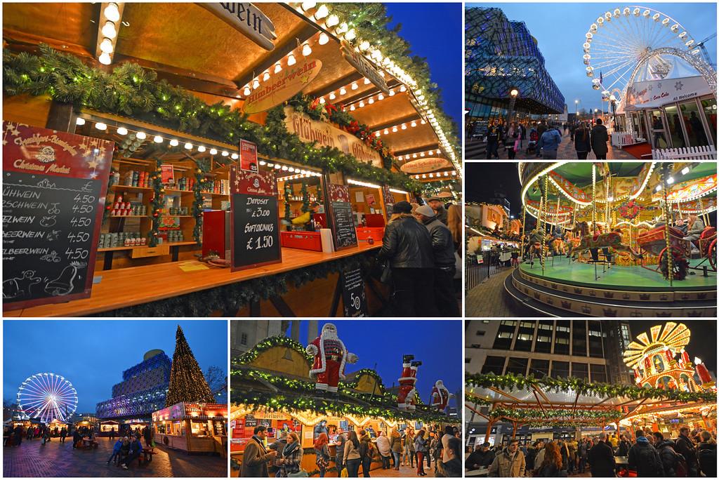 Christmas Market in Birmingham England