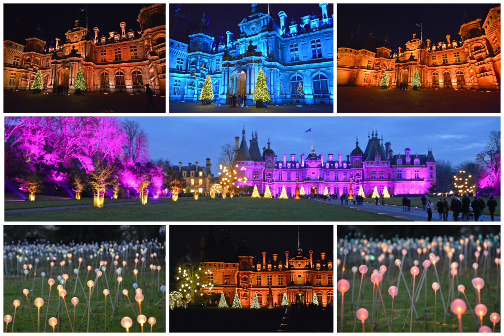 Waddesdon Manor during the Holidays