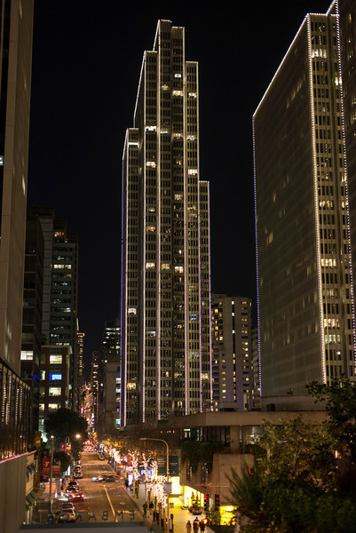 Embarcadero Center & Sacramento Street in San Francisco