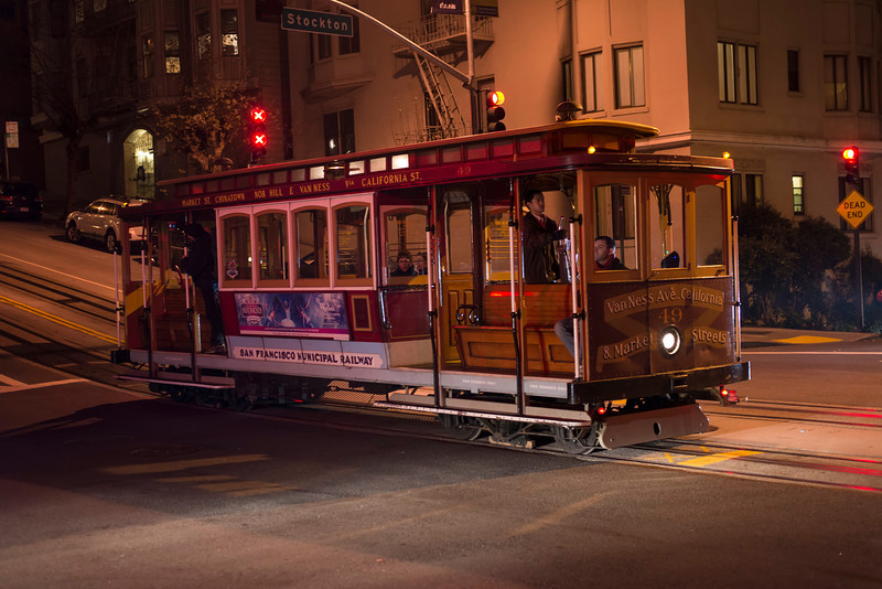 California Street Cable Car - San Francisco copy