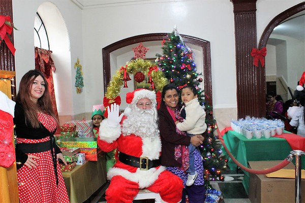 Christmas with Santa from Zara Apartments and Housing