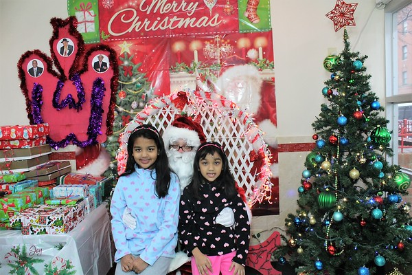 Christmas with Santa with zara Apartments