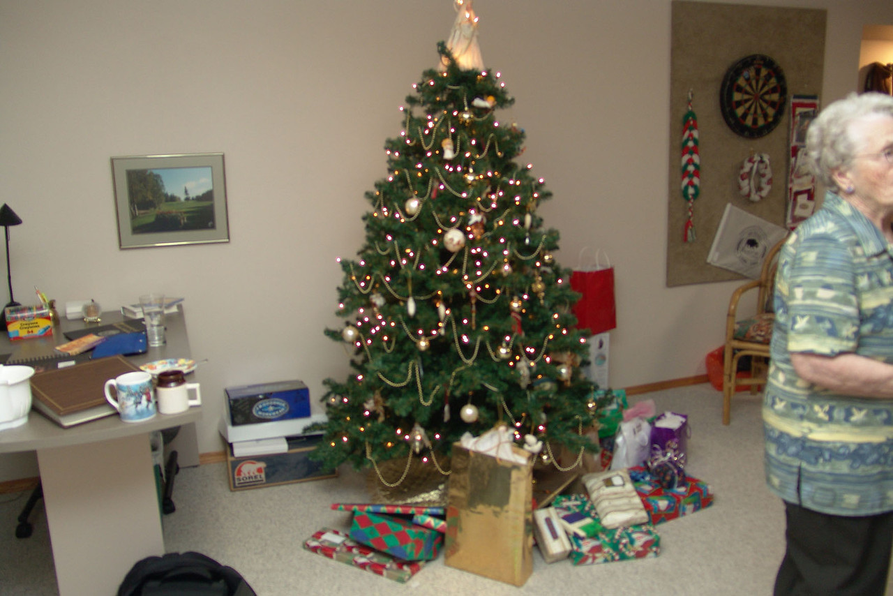 The gift exchange (we open our main presents on Christmas eve).