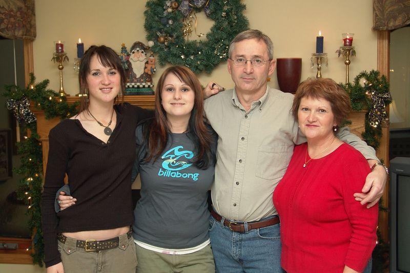 Megan, Brianne, Mike, and Brenda