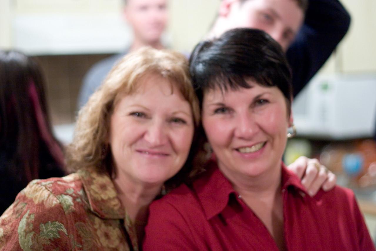Sisters, Brenda and Carol.