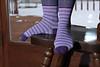 stripey sock fetish