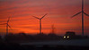 I65 Northern Indiana at sunrise