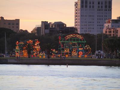 2012 Christmas boat parade -St Pete Pier