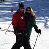 Chad and Kate on the hill at CB