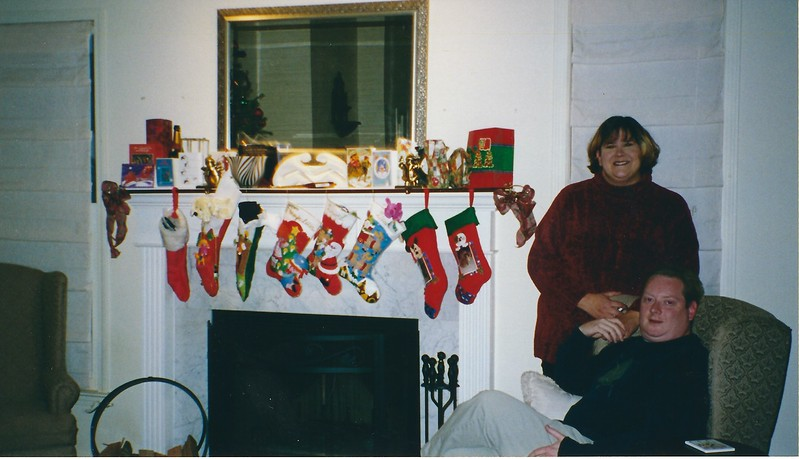 Christmas 2002 - Lee and Jeanie's