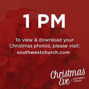 Christmas Eve - 1 PM