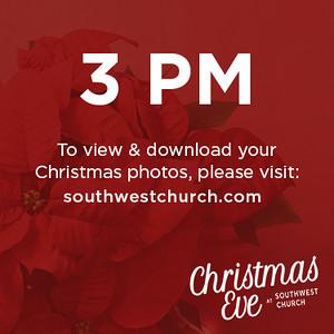 Christmas Eve - 3 PM