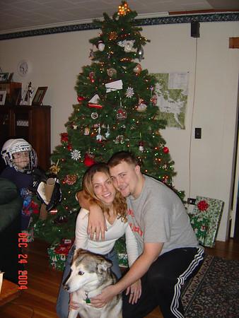 Christmas Eve and Christmas AM 2004