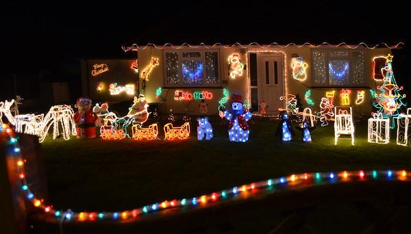 Deck the house to make it jolly...falalala...la.la.la.laa!