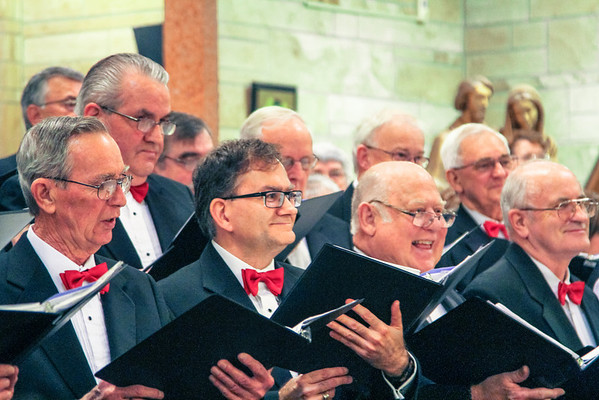 Dofasco Male Chorus Christmas Concert St Francis of Assissi