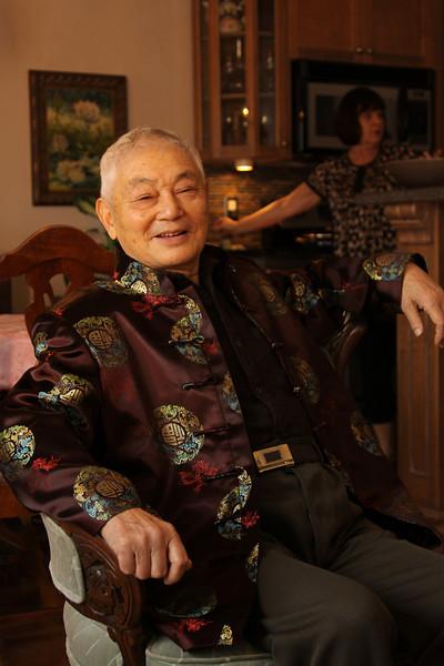 Mr Lou visits Burlington, Dec. 4, 2011