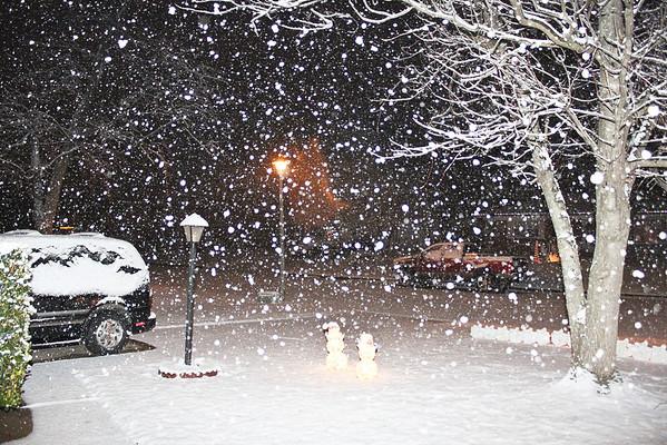 Christmas night 2010