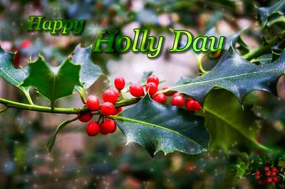 Happy holly day