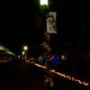 #5 Santa lamp post