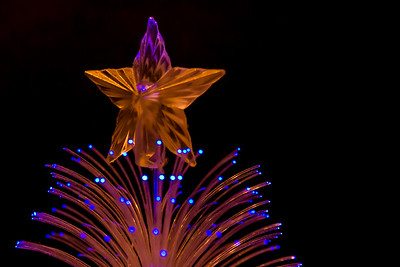 Glowing Christmas Tree Star